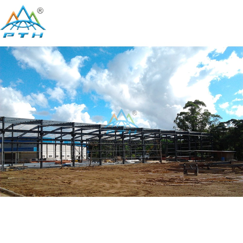 Steel Structure Work Shop/Factory in Brazil